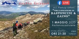 diretta FB 1 maggio- USO BASTONCINI E ZAINO