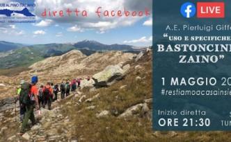 diretta FB 1 maggio- USO BASTONCINI E ZAINO-head