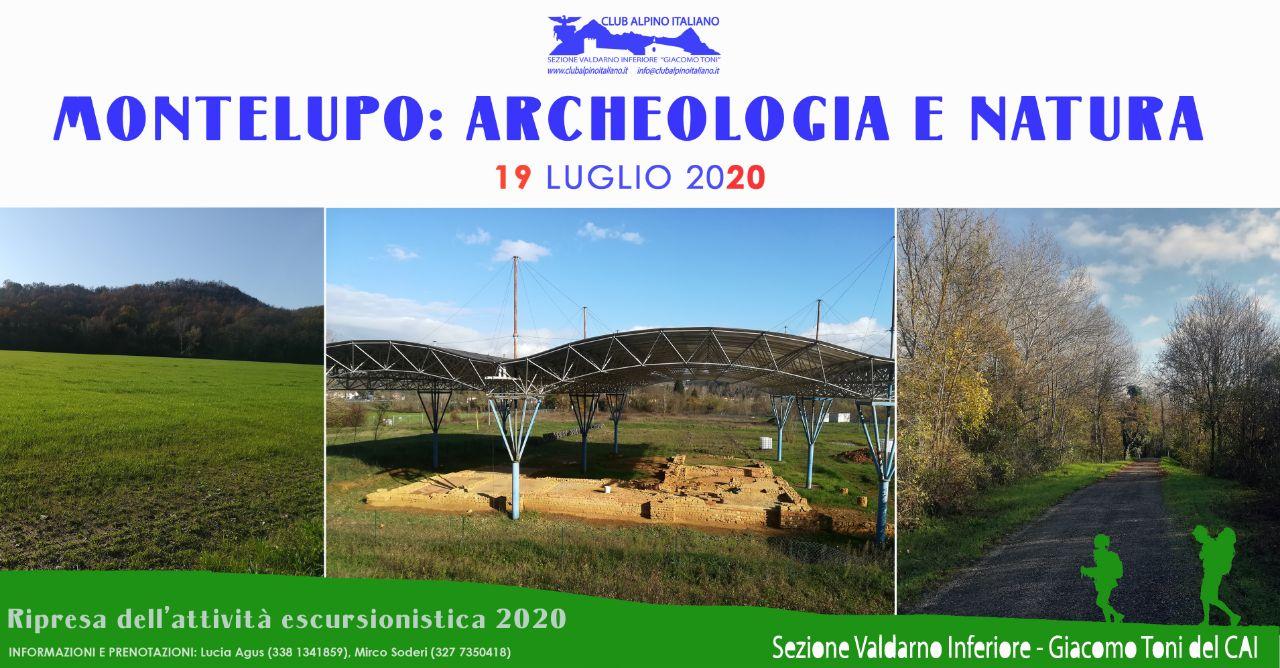 Montelupo: archeologia e natura